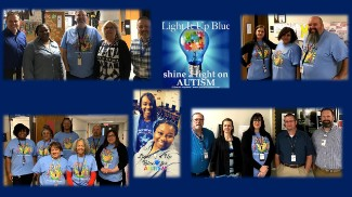 Collage of Autism Day Images