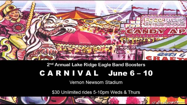 Picture of Lake Ridge Band Carnival Poster